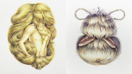 Winnie Truong – 'Really Big Drawings of Hairy Faces'