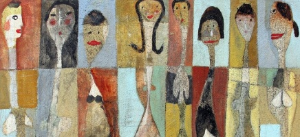 Collage: The Many Faces of Scott Bergey