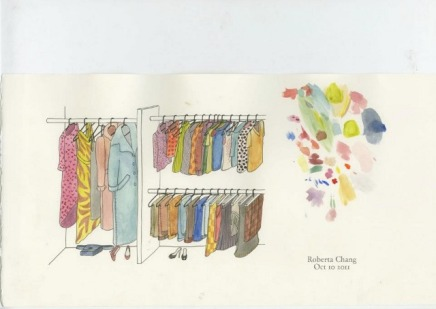 Roberta Chang: Boxed Clothing