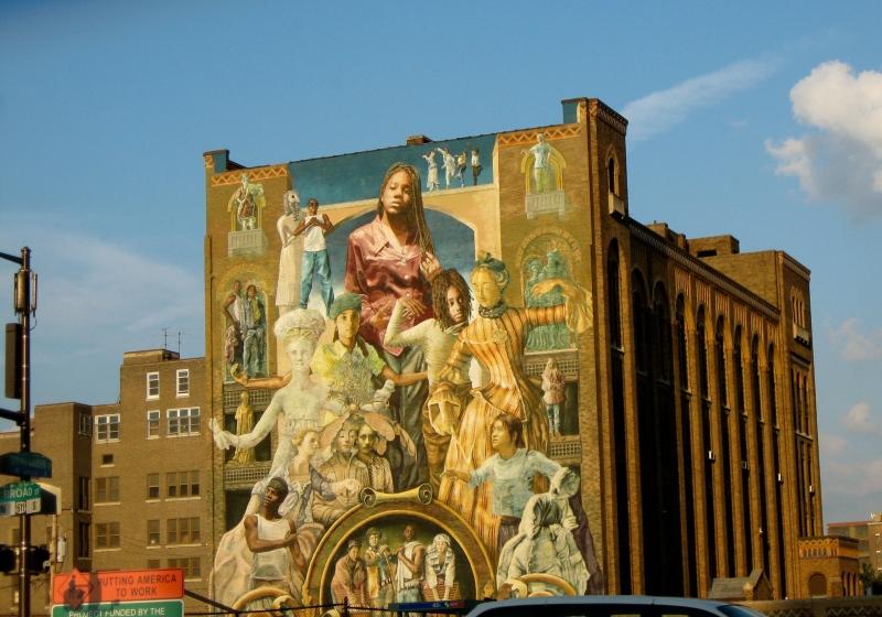 Public art iconic megamurals canadian art junkie for Dr j mural philadelphia