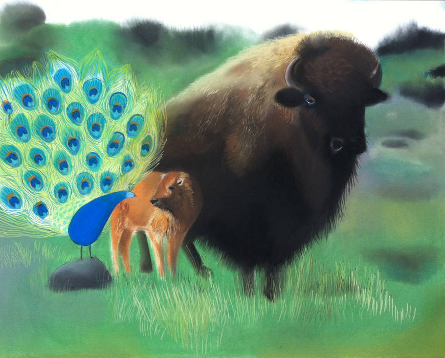 Tamara-Eugene and the Baby Buffalo