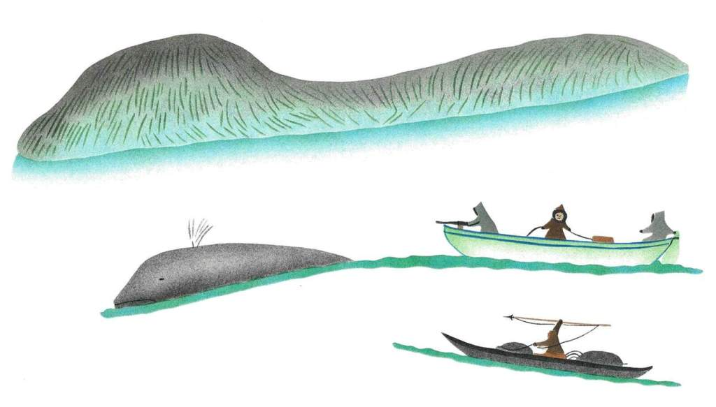 Elisapee-Chasing a Bowhead Whale