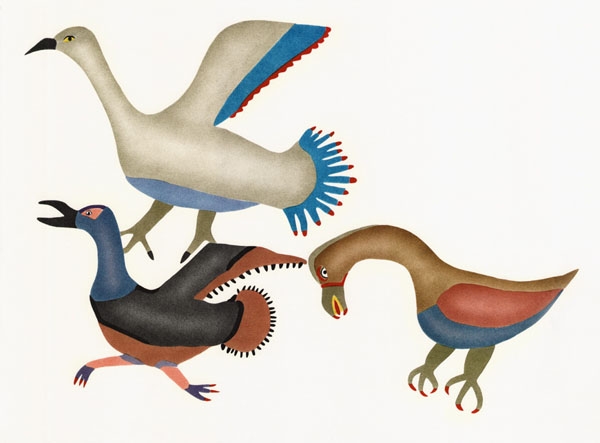 elisapee-three-snow-geese