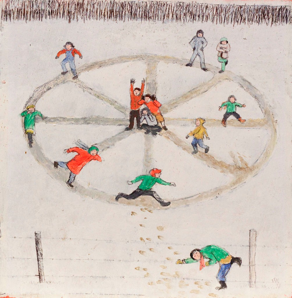 kurelek-foxandgeese-mayberry