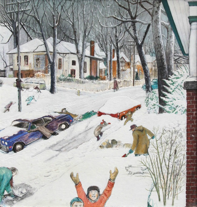 Kurelek-HeavySnowfallonBalsamAvenue2