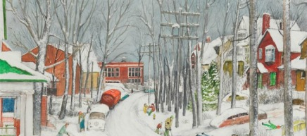 A Snowy New Year: William Kurelek