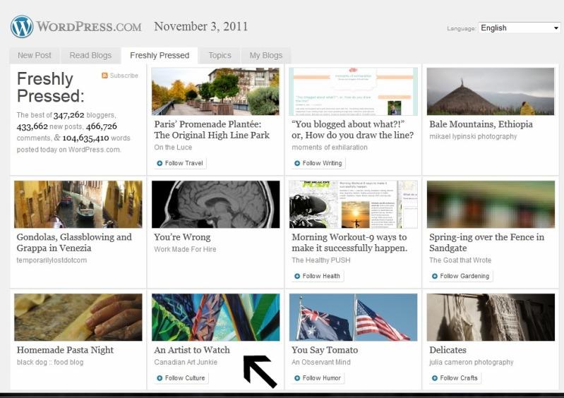 frontpage-freshlypressed-nov3-2011