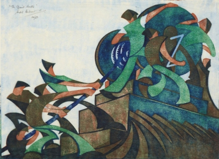 Sybil and Cyril: Transatlantic Printmaking