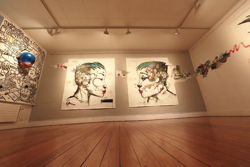 Galerie Frank Installation