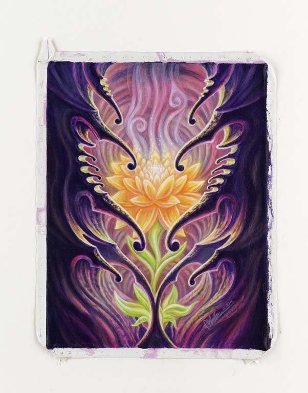 Guy Aitchison. Acrylic on canvas. 18X14