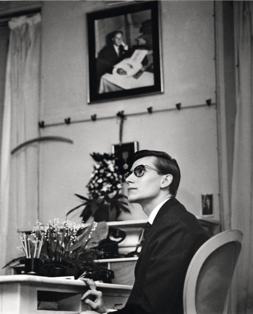 Yves Saint Laurent chez Christian Dior, Paris 1957