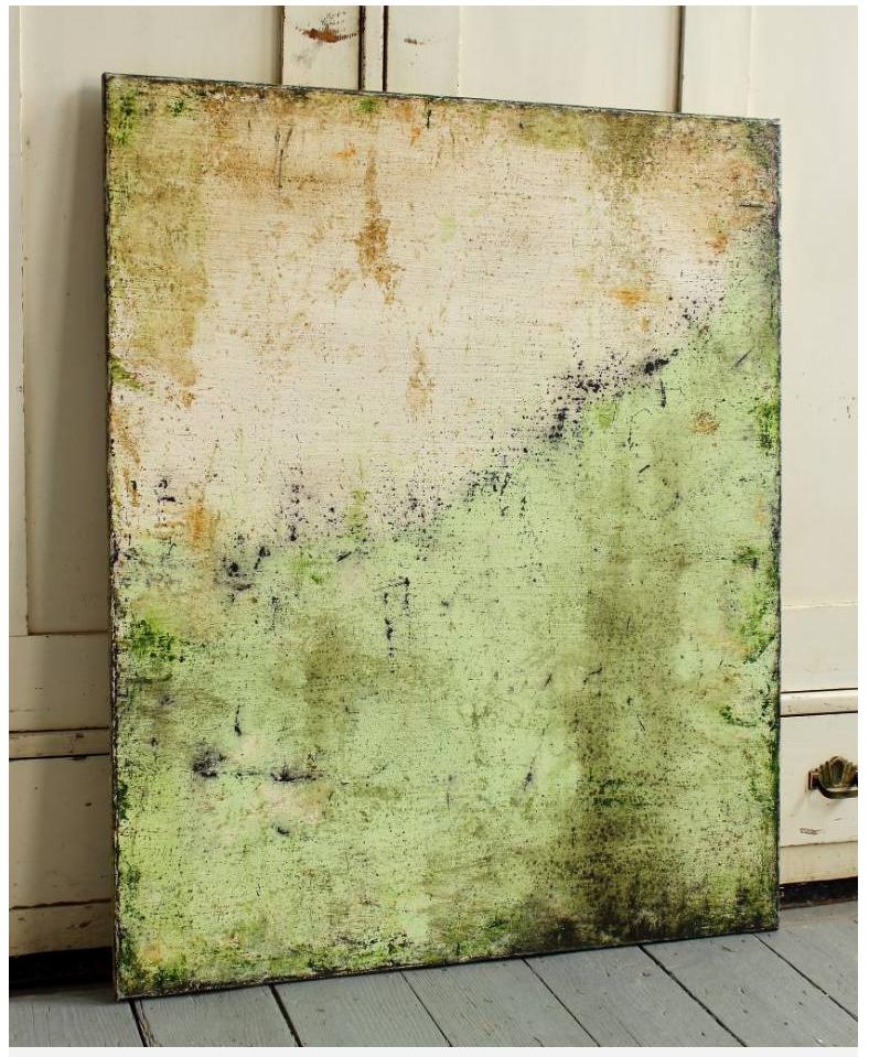 Christian Hetzel; Acrylic Painting fresh green