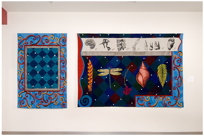 Incantation: the Senses, 2006, woven tapestry, 1.67 x 4 m. Collection: Capital Arts Building, Alberta Foundation for the Arts. Photo: John D. Dean