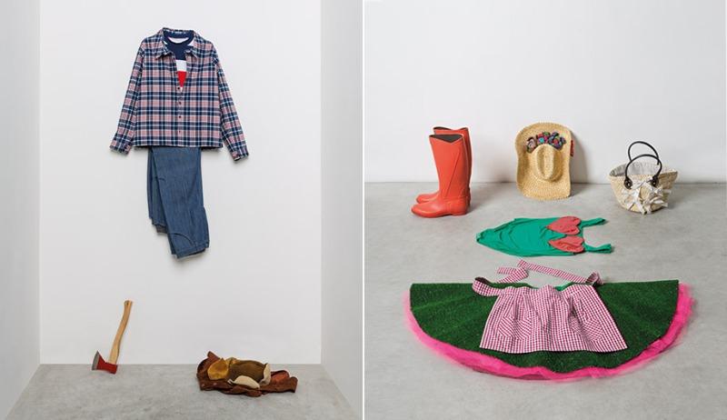 Lumberjack by Vivienne Westwood and gardener's garb by Elio Fiorucci
