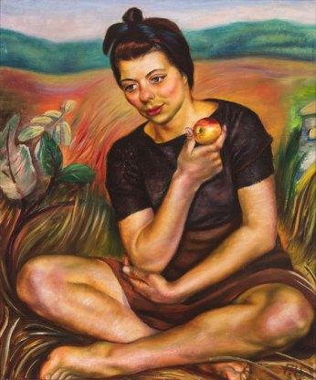 Autumn (Girl with an Apple), 1942