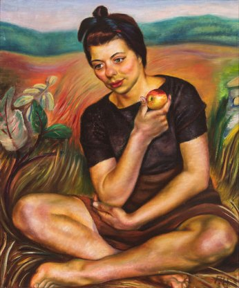 Autumn (Girl with an Apple), 1942