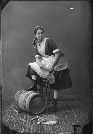 Miss Cockburn, 1876