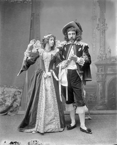 Mr. and Mrs. Stairs at Lady Aberdeen's historical fancy dress ball, 1896