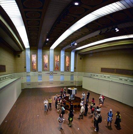former trading floor TSE