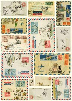 mail-art-pinterest-vintage-envelopes