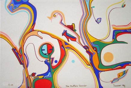 18/150: Alex Janvier -The Retrospective