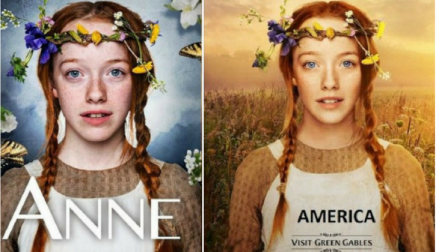 Photoshop Controversy: Anne of Green Gables