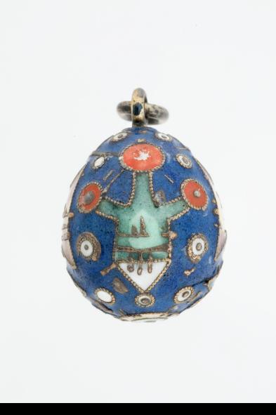 miniature easter egg pendant2