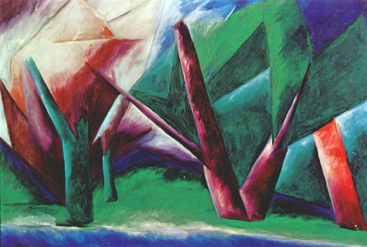 Forest (Red-Green) 1914